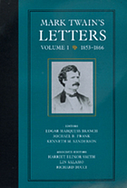Mark Twain's lettersThe Mark Twain papers