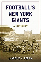 Football's New York Giants : a history