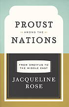 Proust among the nations : from Dreyfus to the Middle East