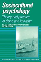 Sociocultural psychology : theory and practice of doing and knowing