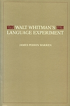 Walt Whitman's language experiment