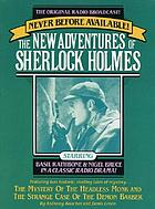 The New Adventures Of Sherlock Holmes:the Mystery Of the Headless Monk ; and ; the Strange Case Of the Demon Barber : Cassette Pack