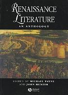 Renaissance literature : an anthology