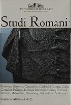 Studi romani : in memoria di Maurizio Fagiolo dell'Arco e di Stefano Susinno