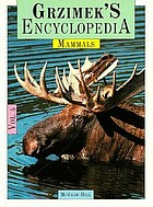 Grzimek's encyclopedia of mammals