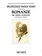 Romanze su testi italiani e raccolte d'epoca su testi di autori italiani