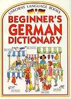 Beginner's German dictionary