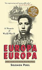 Europa, Europa : a true story of the Holocaust