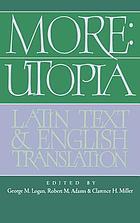 Utopia : Latin text and an English translation