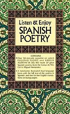 Listen & enjoy Spanish poetry