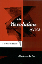 The Revolution of 1905 : a short history