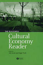 The Blackwell cultural economy reader