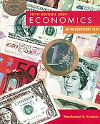 Economics, an introductory text