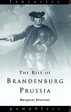 The rise of Brandenburg-Prussia