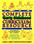 Complete early childhood curriculum resource