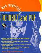 Web publishing with Adobe Acrobat and PDF