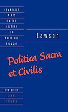 Politica sacra et civilis