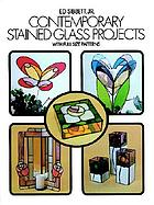 Contemporary stained glass projects, with full-size templates