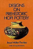 Designs on prehistoric Hopi pottery