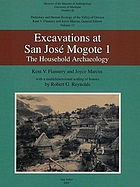 Excavations at San José Mogote 1 : the household archaeology