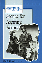 The book of scenes for aspiring actors