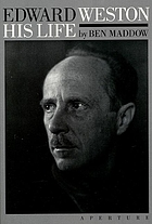 Edward Weston : his life