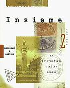 Insieme : an intermediate Italian course