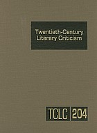 Twentieth-century literary criticism. excerpts from criticism of the works of novelists, poets, playwrights, short story writers, and other creative writers, 1900-1960