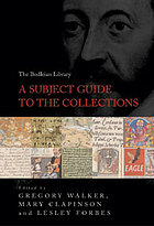 A subject guide to the collections
