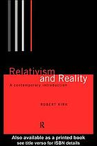Relativism and reality a contemporary introduction