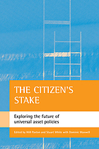 The citizen's stake : exploring the future of universal asset policies