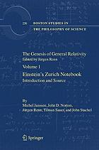 The genesis of general relativity. the promise of mathematics