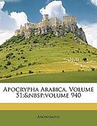 Apocrypha arabica
