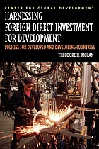 Harnessing foreign direct investment for development : policies for developed and developing countries