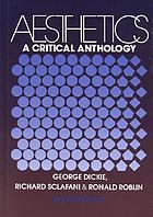 Aesthetics : a critical anthology