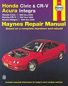 Honda Civic & CR-V, Acura Integra automotive repair manual