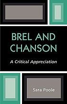 Brel and chanson : a critical appreciation