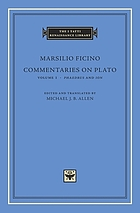 Commentaries on Plato