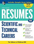 Résumés for scientific and technical careers