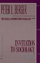 Invitation to sociology; a humanistic perspective