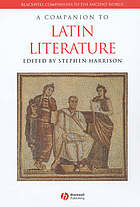 A companion to Latin literature