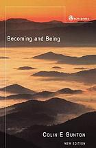 Becoming and being : the doctrine of God in Charles Hartshorne and Karl Barth