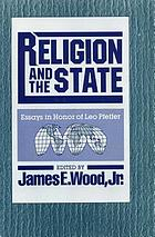 Religion and the state : essays in honor of Leo Pfeffer