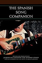 The Spanish song companion