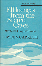 Effluences from the sacred caves : more selected essays and reviews