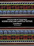 Designs & patterns from North African carpets & textiles