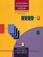 Accounting information systems, a cycle approach Accounting information systems : a book of readings with cases