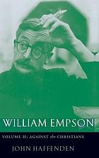 William Empson against the Christians