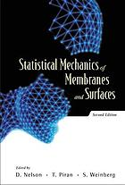 Statistical mechanics of membranes and surfaces