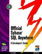 Official Sybase SQL anywhere : a developer's guide